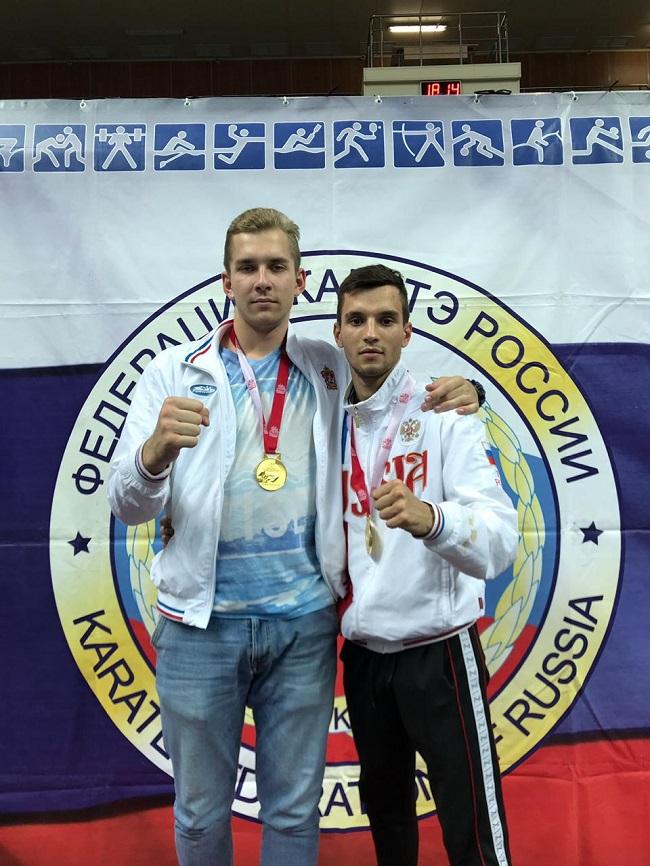 Серебряков Василий и Жук Валентин 1м